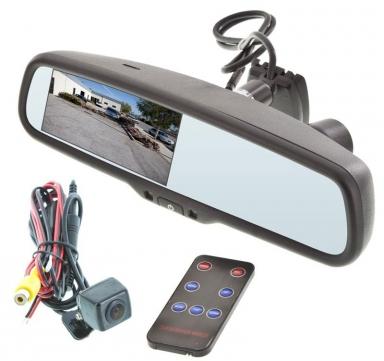 Зеркало заднего вида с видеорегистратором и камерой заднего вида
