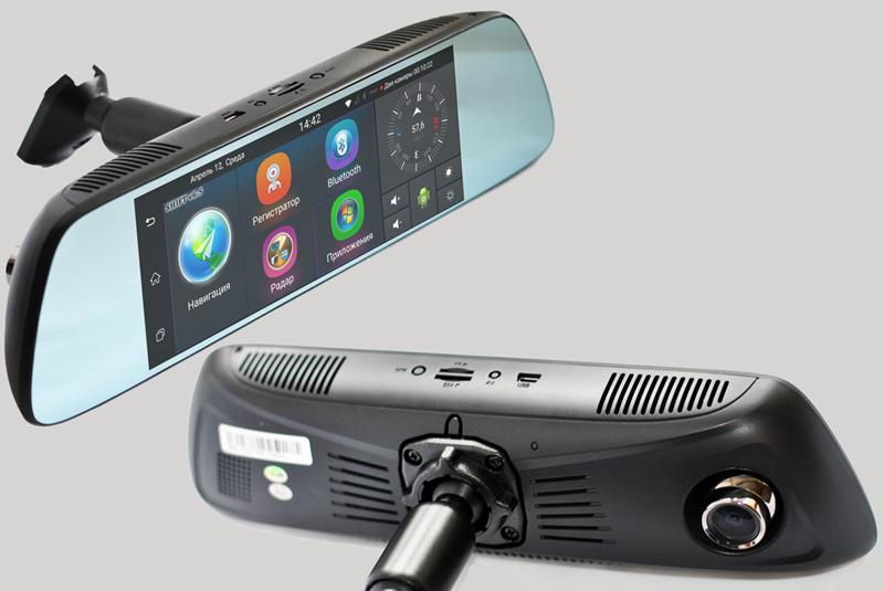 Зеркало заднего вида с gps-навигатором видеорегистратором в ижевске видеорегистратор купить market сравнить